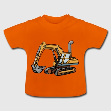 Grävmaskin shirt Son Child - Baby-T-shirt