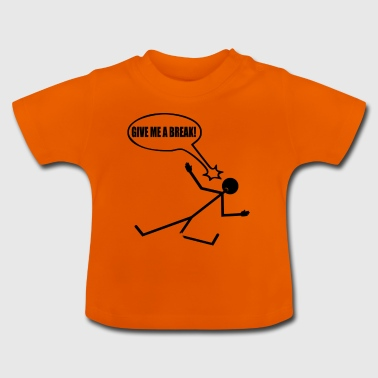 Stick Figure Funny Gift - Baby T-Shirt