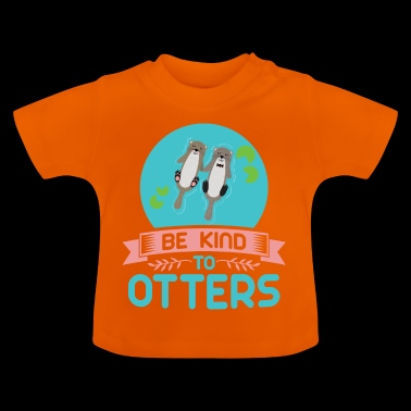 The sweet otter - Baby T-Shirt