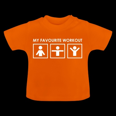 Mein liebstes Training ! - Baby T-Shirt