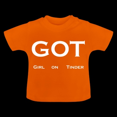Girl on Tinder - Baby T-Shirt