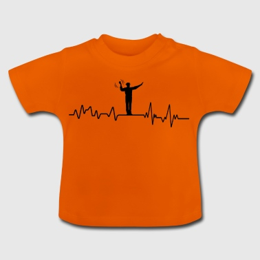 Heartbeat traffic cop T-Shirt traffic jam - Baby T-Shirt