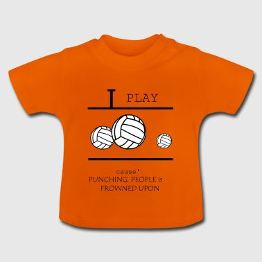 Volleyball, beach volleyball, volleyball girls - Baby T-Shirt