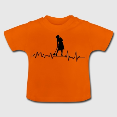 Clean Heartbeat Clean T-Shirt Gift - Baby T-Shirt