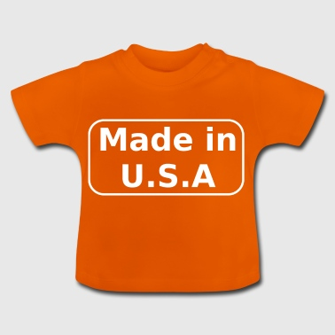 Made in USA - T-shirt Bébé