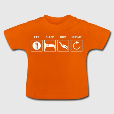 Diving diving. - Baby T-Shirt