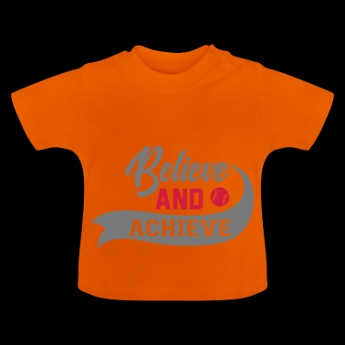 Baseball Motivation - Baby T-Shirt