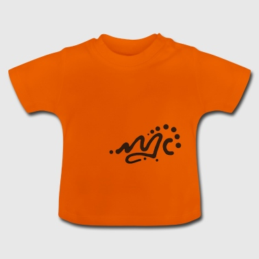 abstract logo - Baby T-Shirt