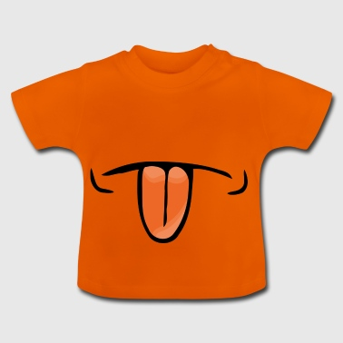 langue - T-shirt Bébé