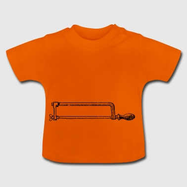 Saw, handsaw, professional - Baby T-Shirt