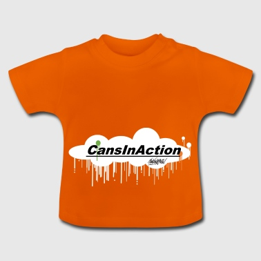 CansInAction Cloud # 1 - Baby T-Shirt