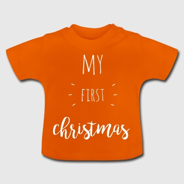 my first christmas - white - Baby T-Shirt