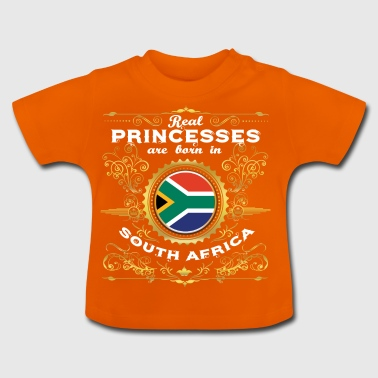 PRINCESS PRINCESS QUEEN BORN SOUTH AFRICA - Baby T-Shirt
