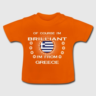 I AM GENIUS CLEVER BRILLIANT GREECE - Baby T-Shirt
