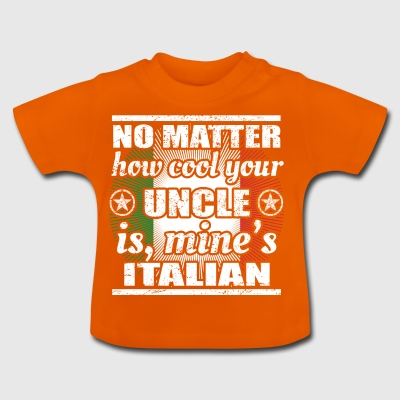 no matter cool uncle onkel gift Italien png - Baby T-Shirt