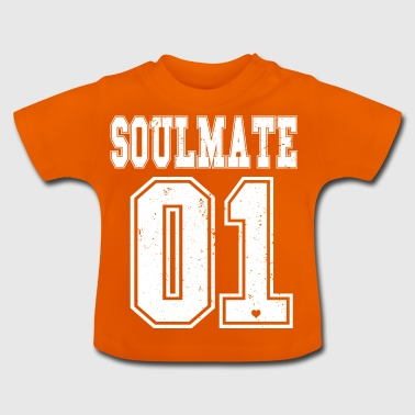 Soul Mate Soul Sister Soul Brother BFF paar vriend - Baby T-shirt