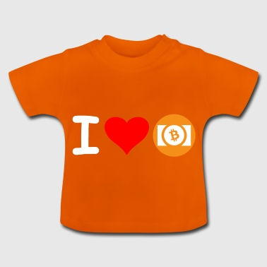 Crypto Bitcoin Cash Love. - T-shirt Bébé