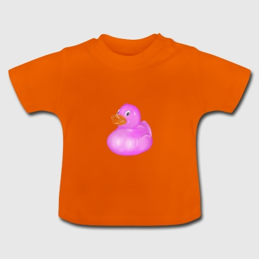 Rose badeend - Baby T-shirt