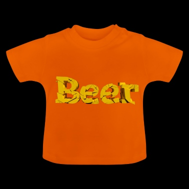 Bier lettertype - Baby T-shirt