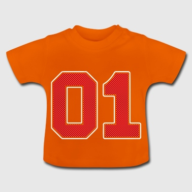 Number 01 Number Number - Baby T-Shirt