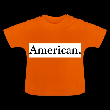 American American Gift Presentidé - Baby-T-shirt