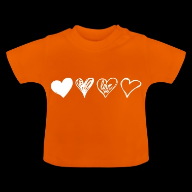 SQUARE HEART - Baby T-shirt