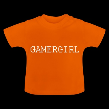Fille de Gamer - T-shirt Bébé