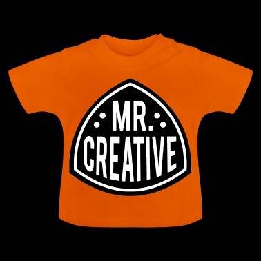 MR CREATIVO - Camiseta bebé