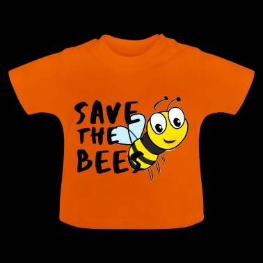 Save the Bees! Sweet Vegan bee idee - Baby T-shirt