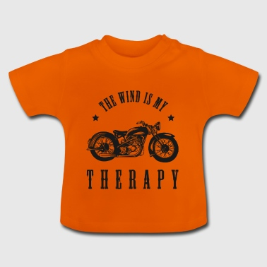 DE WIND IS MIJN THERAPIE - Baby T-shirt