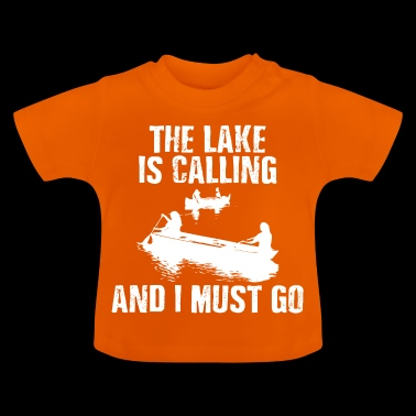 The Lake Is Calling - Baby T-Shirt