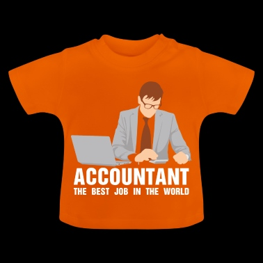 The comptroller works the accounthold career - Baby T-Shirt
