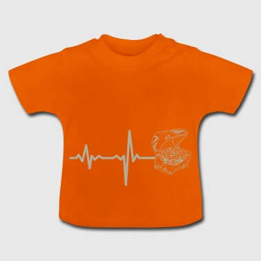 Gift heartbeat jewelry chest - Baby T-Shirt