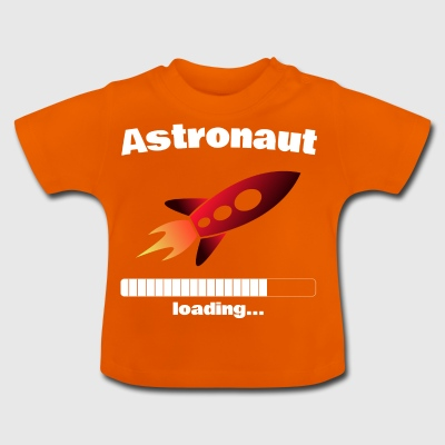 Astronaut loading ... Baby Motif - Baby T-Shirt