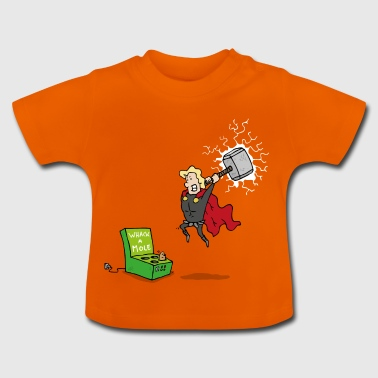 Thor God of Whack a Mole - Baby T-shirt