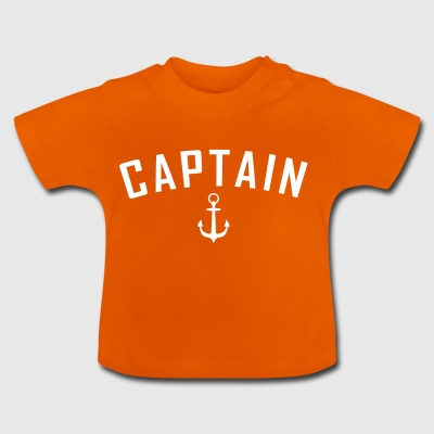 Gezagvoerder. Anker. Matroos. Nautical. Zeeleven. Seagal - Baby T-shirt