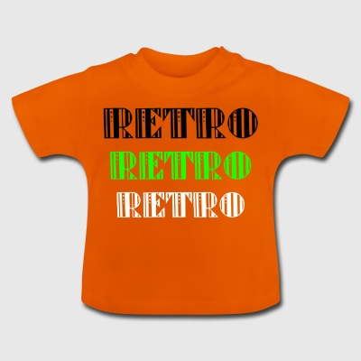 Retro Collections - Baby-T-skjorte