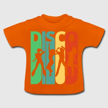 Vintage Retro Disco. Dancing.Birthday, Party Gifts - Baby T-Shirt