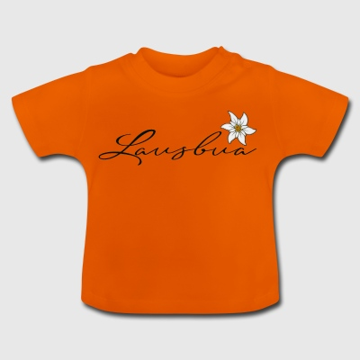 Lausbua mit Edelweiss - Baby T-Shirt