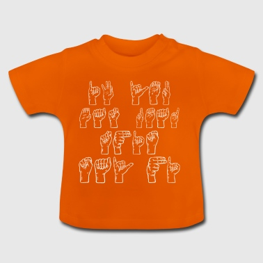 ASL American Sign Language - T-shirt Bébé