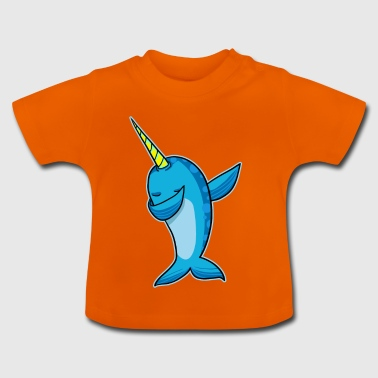 Narwhal Dab - dabbing narwhal - Baby T-Shirt