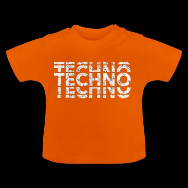 Techno Music Bass Shirt - Baby T-Shirt