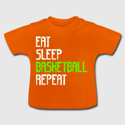 Eat Sleep BASKET REPEAT - Maglietta per neonato