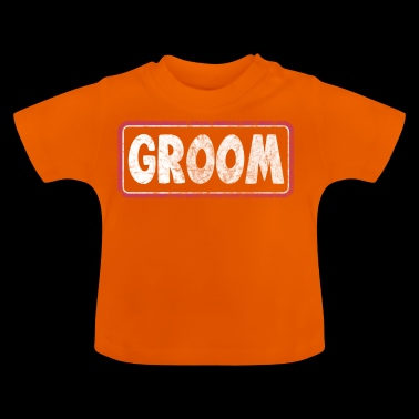 groom used look - Baby T-Shirt