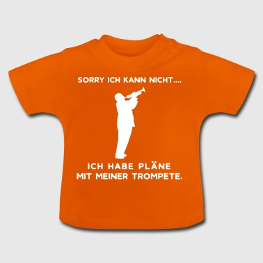 Trompete | Trompeter Musiker Band Orchester Jazz - Baby T-Shirt