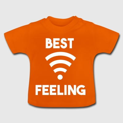 best feeling full wifi - Baby T-Shirt