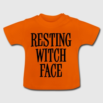 Resting Witch Face Black - Baby T-Shirt