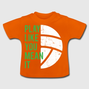 Volleyball T-Shirt - Gift - Beach Volleyball - Baby T-Shirt