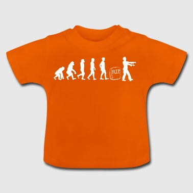 Zombie - Evolution - Gift - Funny - Undead - Baby T-shirt