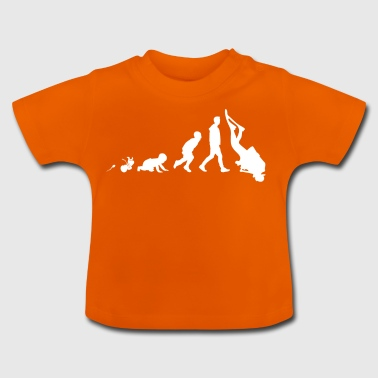 Divers Fun Shirt Gaver Grow Evolution - Baby T-shirt